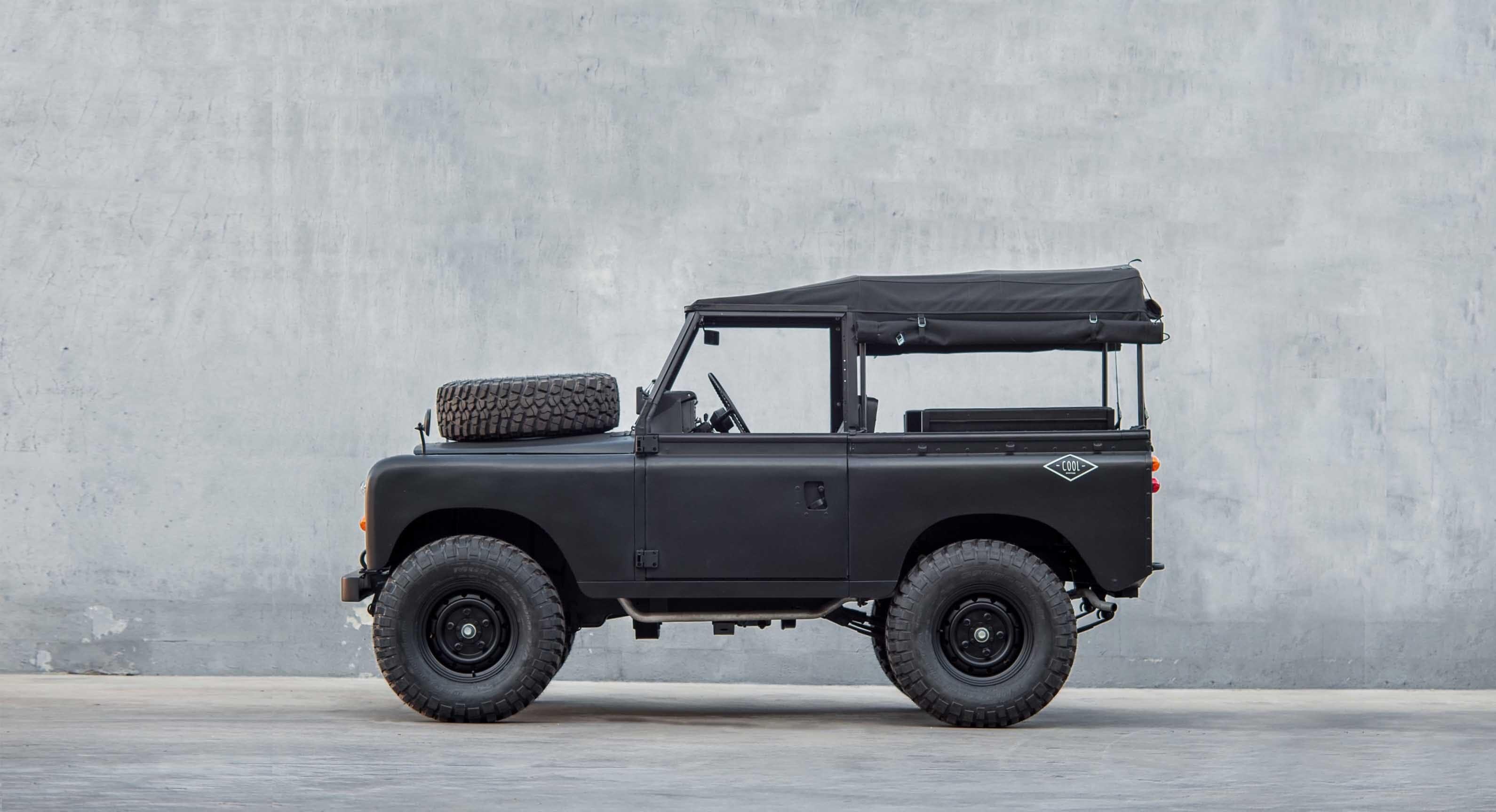 1979 Land Rover Series 3 Defender Black By Cool & Vintage