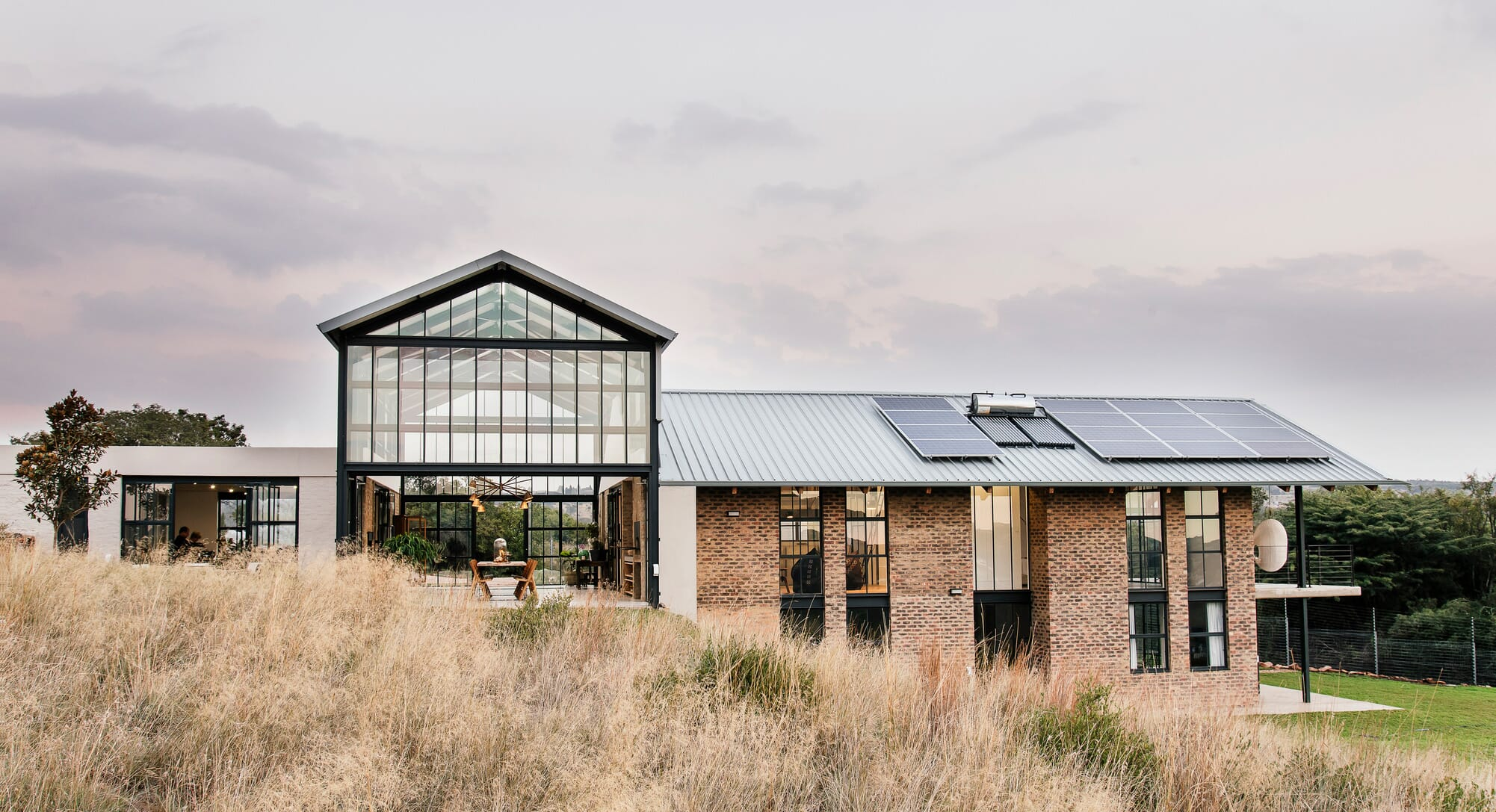 How African Barns Inspired The Conservatory By Nadine Engelbrecht Architects
