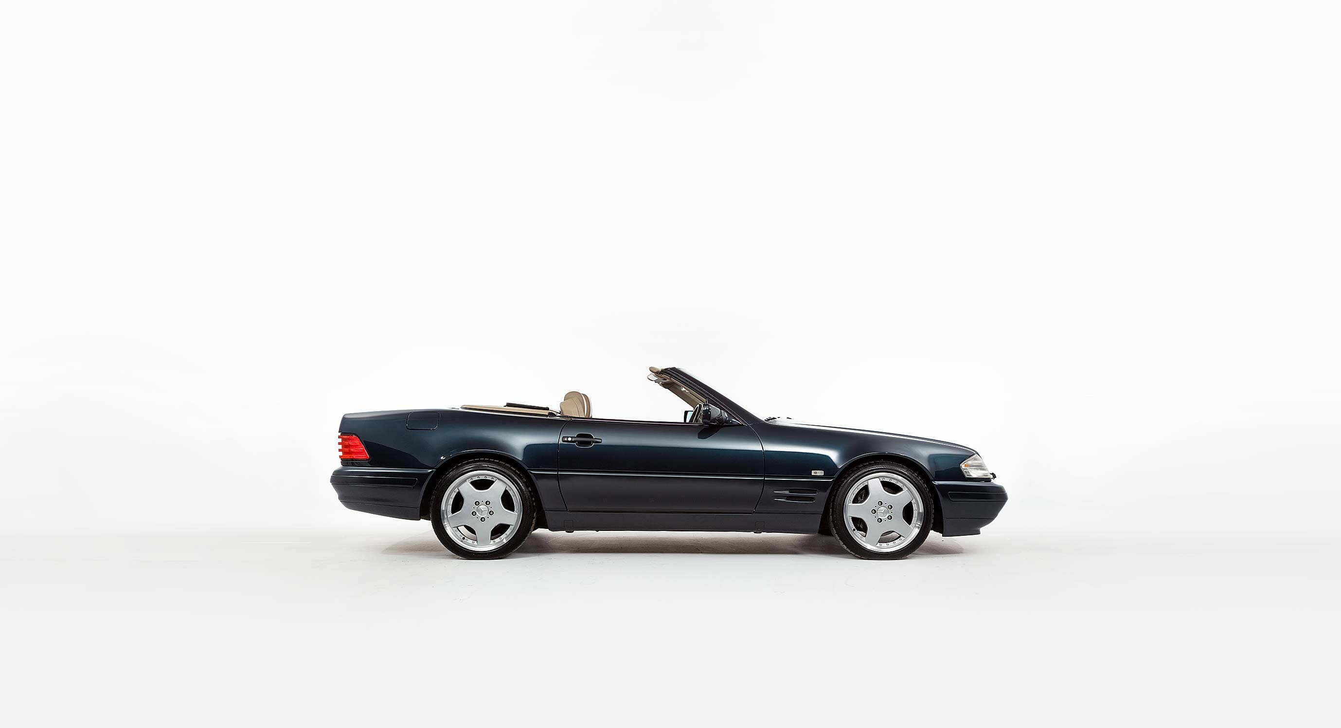 This Mercedes R129 SL500 Is A Piece Of Royal History