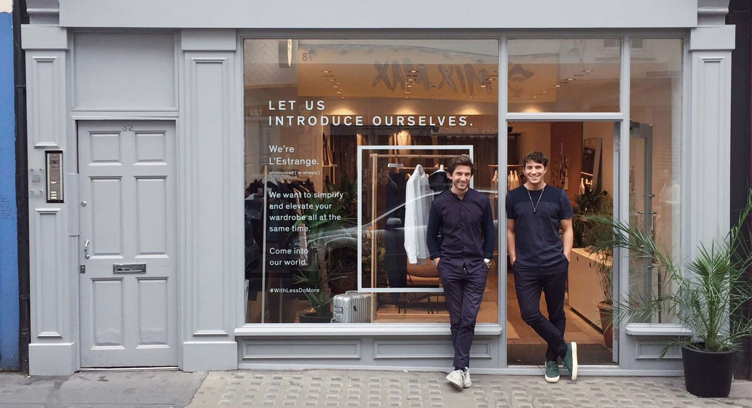 Simplifying Tradition: An Interview With L'Estrange London