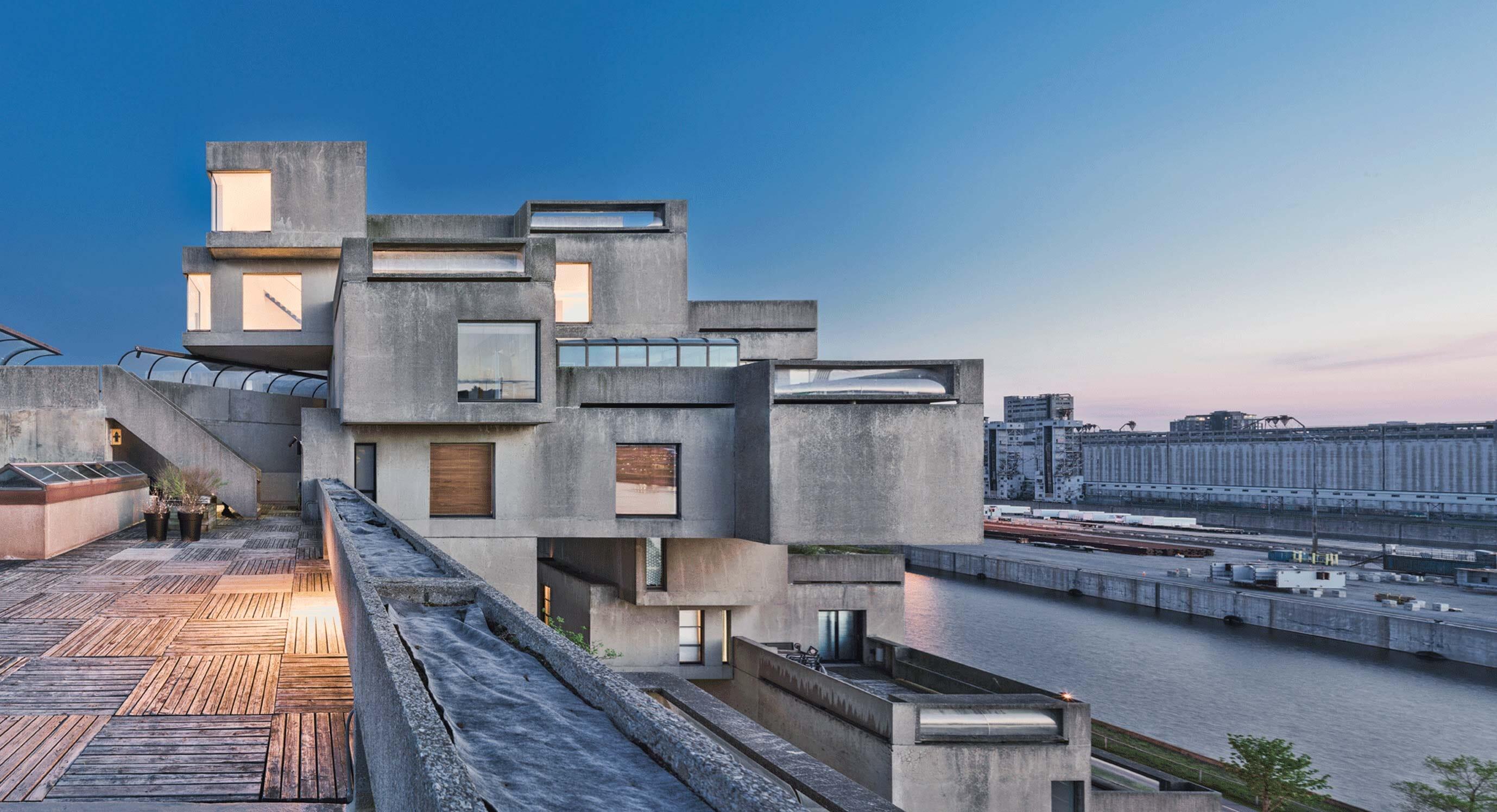 Moshe Safdie's Habitat 67 House Restored For 50th Anniversary