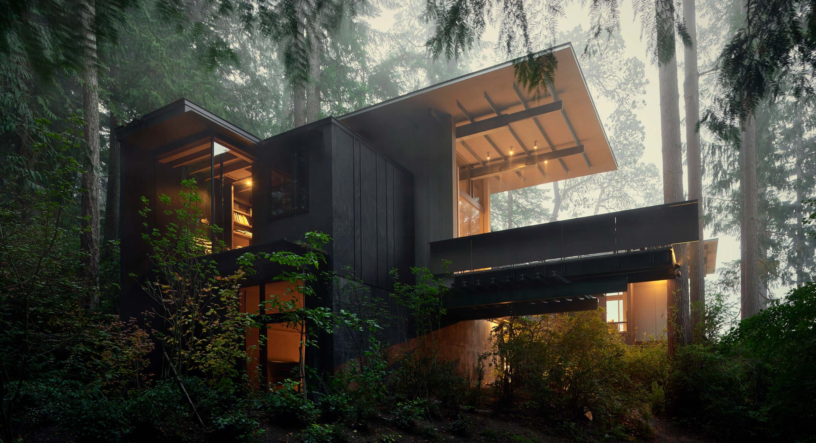 Inside Jim Olson's Incredible Personal Woodland Retreat