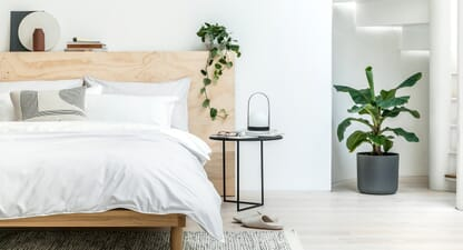 Sleep sound In Undercover Living's stylish & sustainable bedding