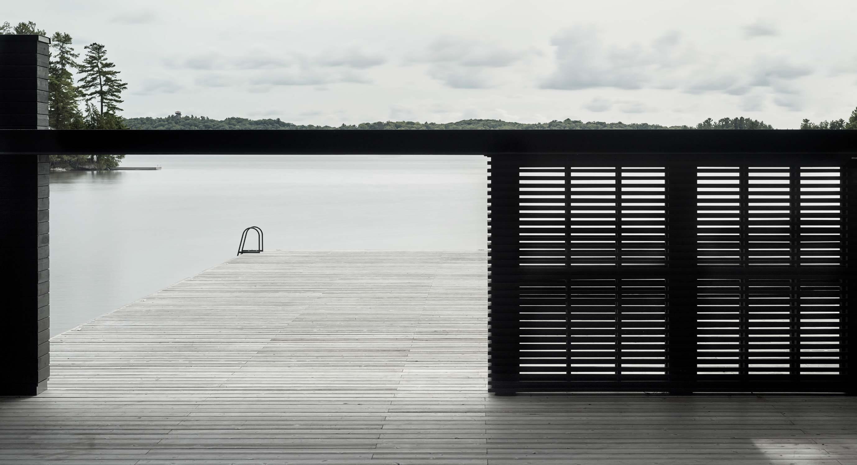 AKB Architects' Muskoka Boathouse Is Unlike Any Other Shoreside Escape