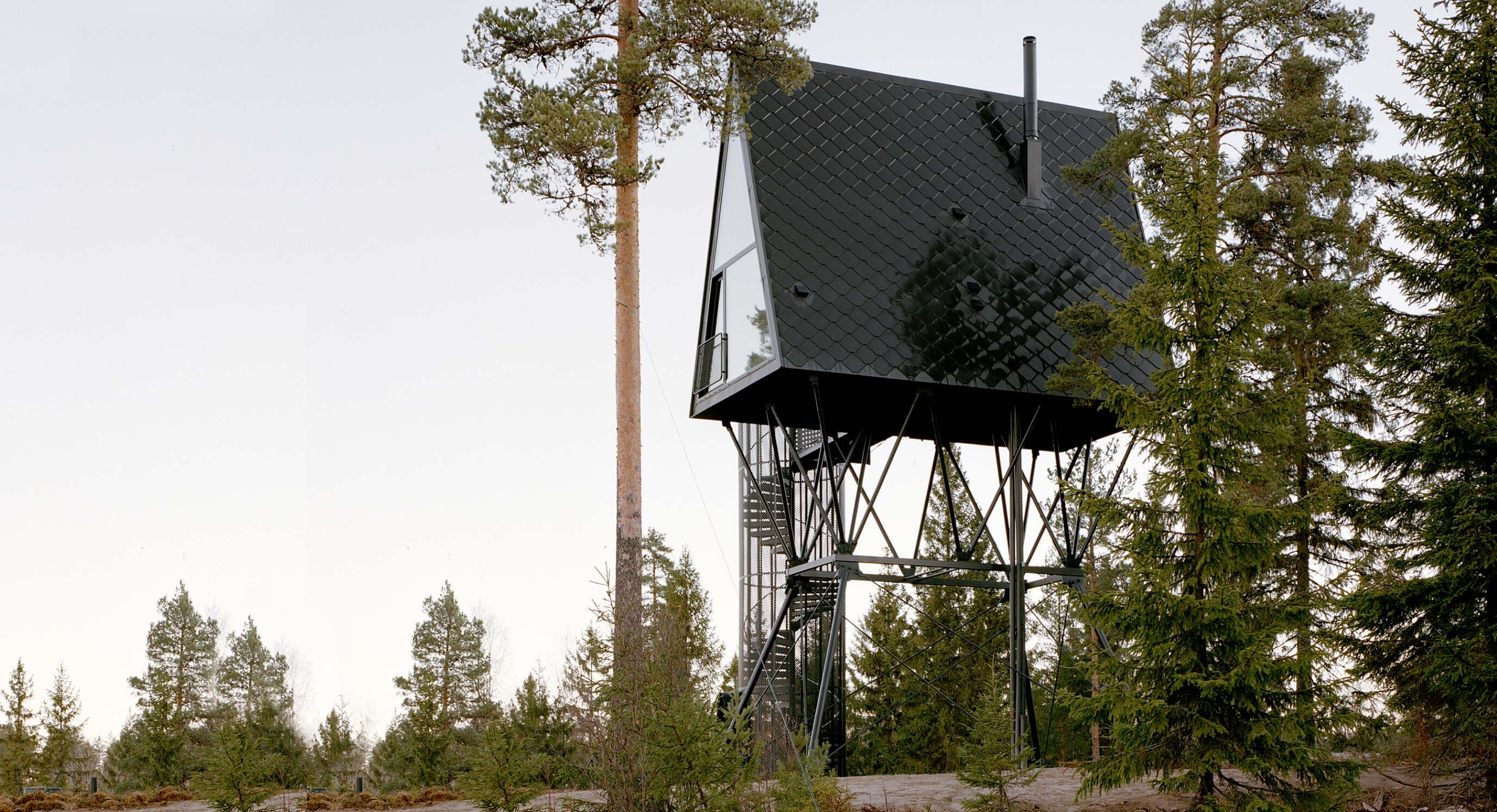 PAN-Cabins Have A Mythological Link To Their Norwegian Surroundings