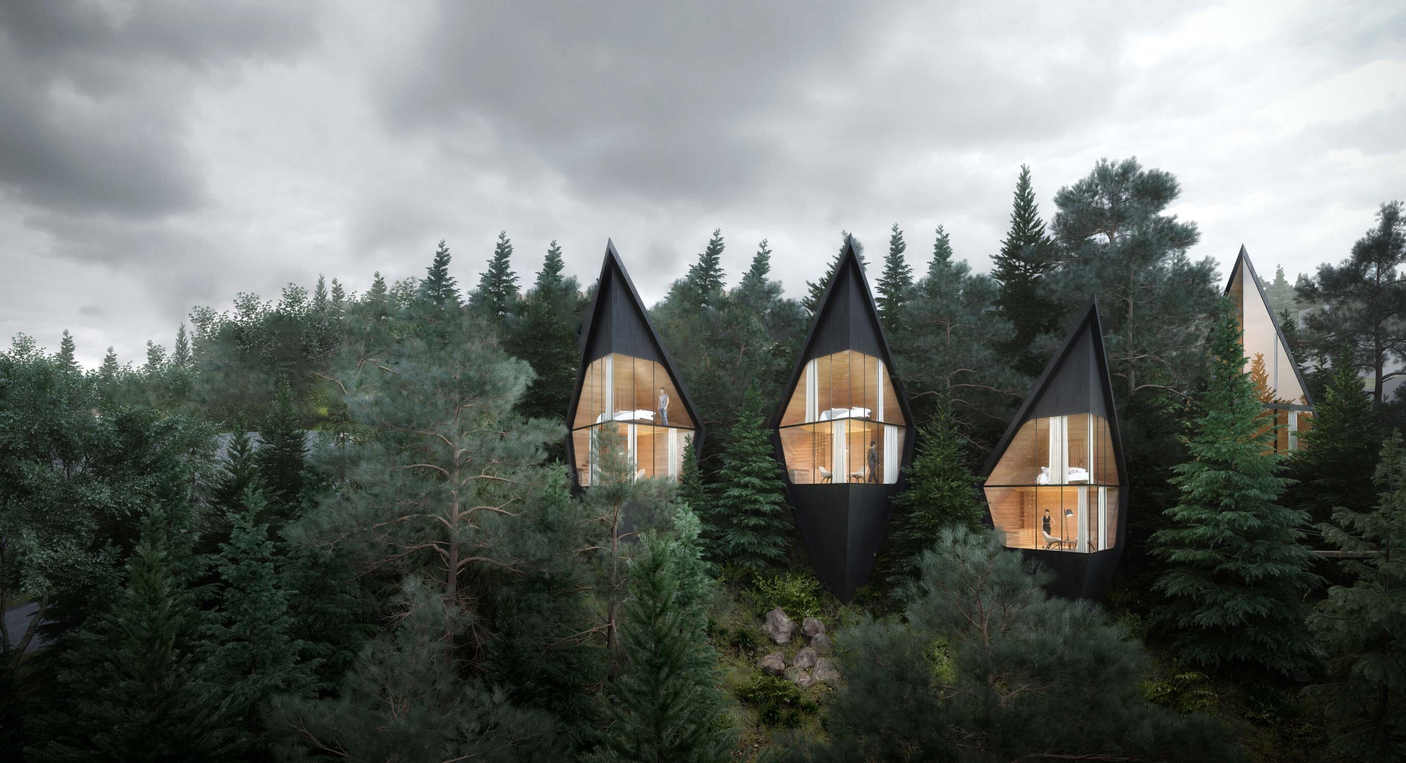 Peter Pichler Architecture Conceptualises The Treehouse Of Dreams