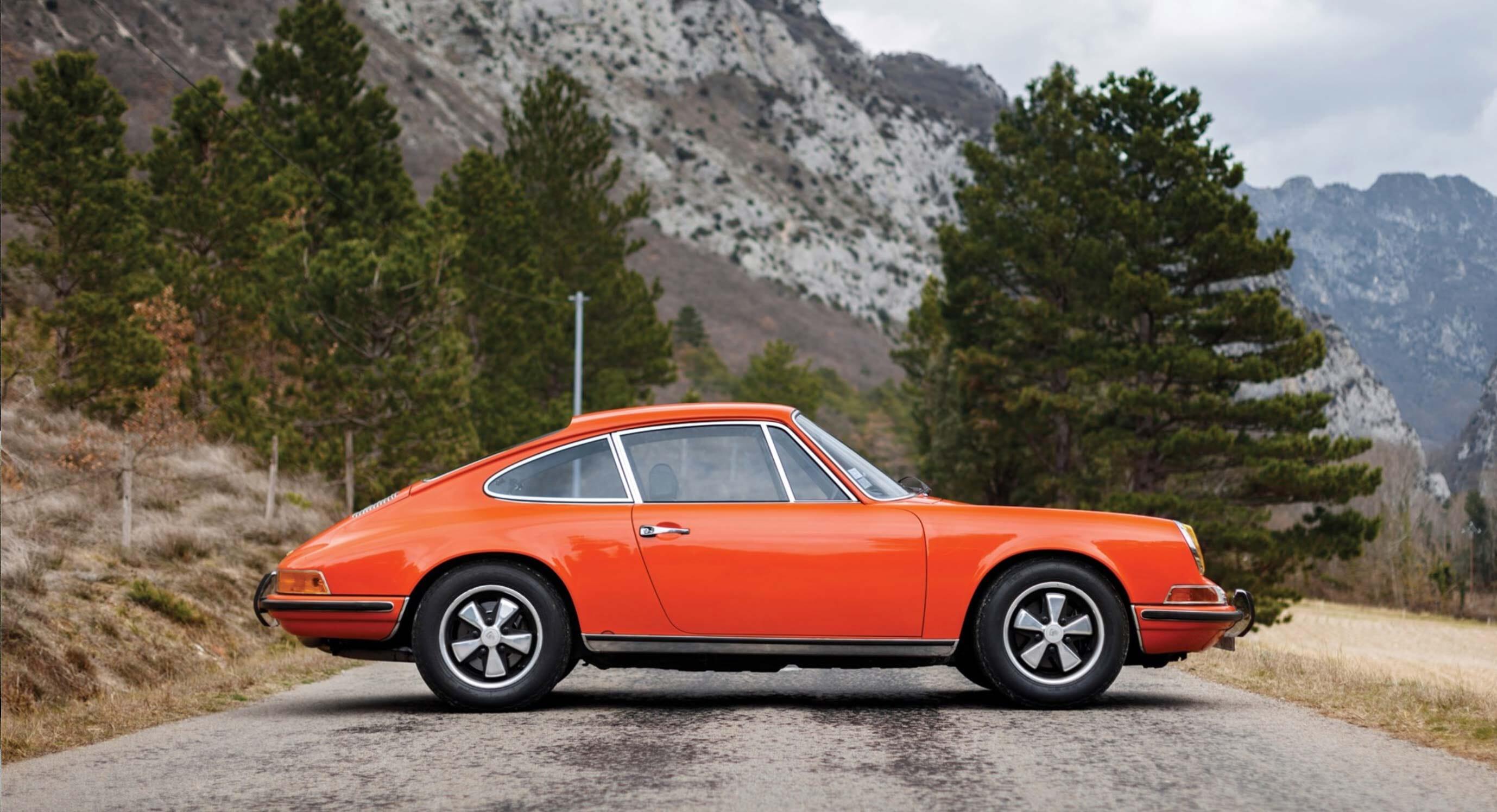 Classic Car Find of the Week: A 1969 Blood Orange Porsche 911 S 2.0