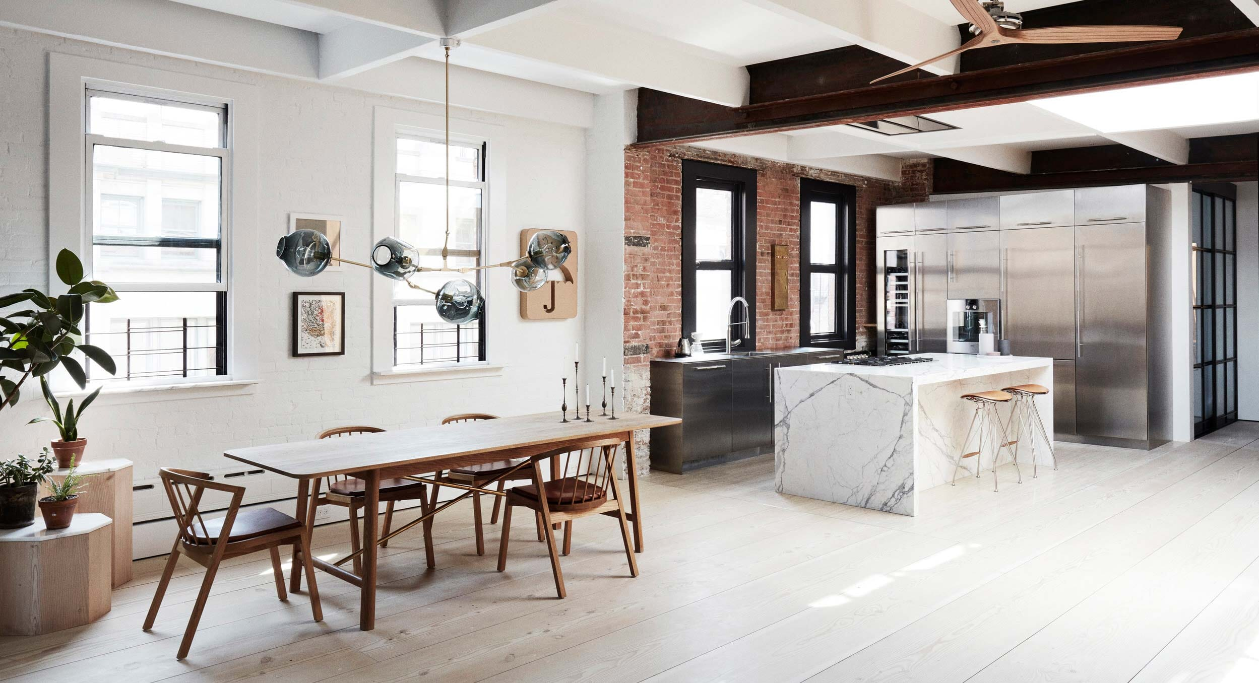 Søren Rose Studio Add A Touch Of Scandinavia To This NYC Loft