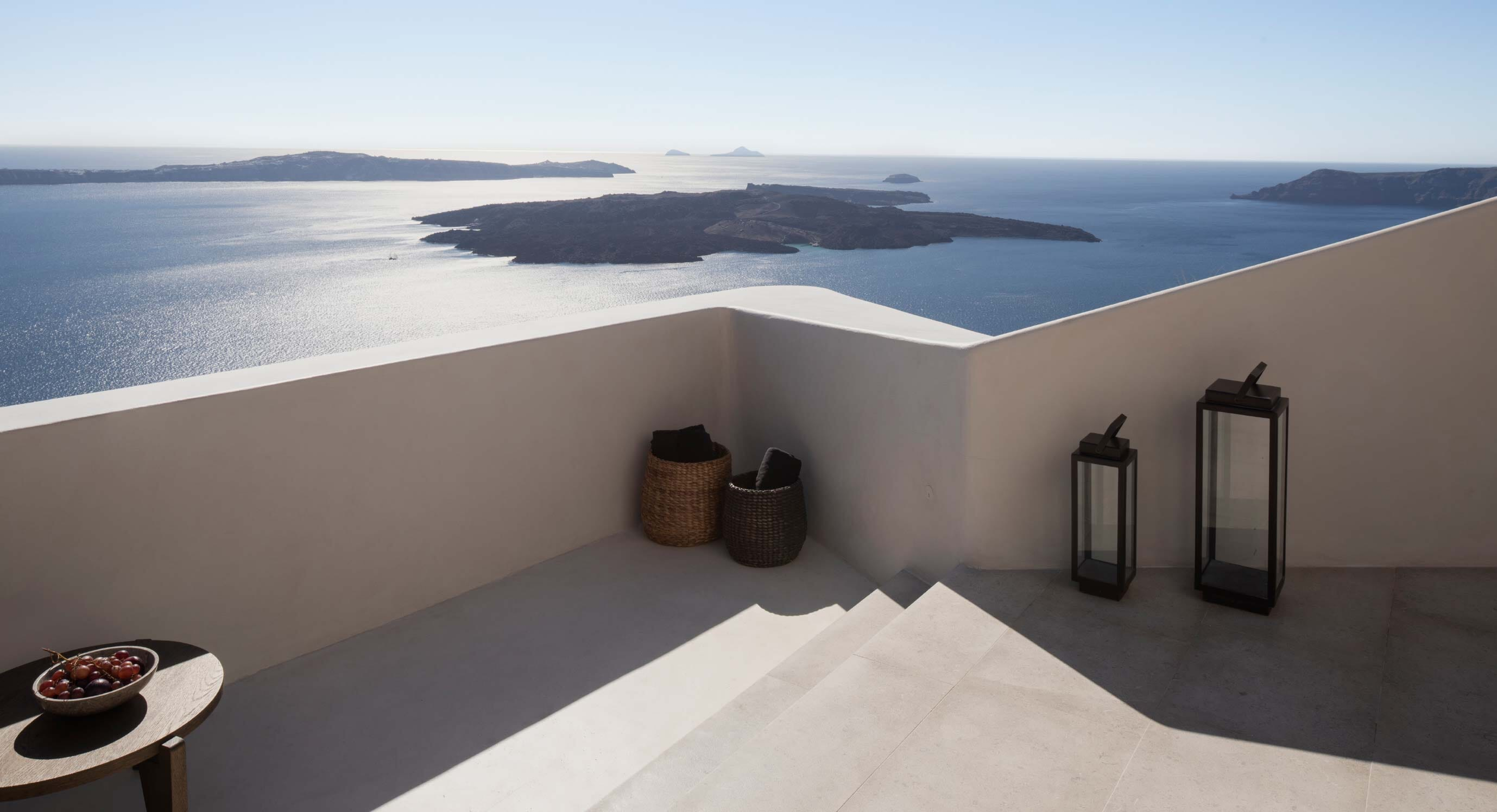 Inside The Vora Villa - The 'Balcony To The Aegean'