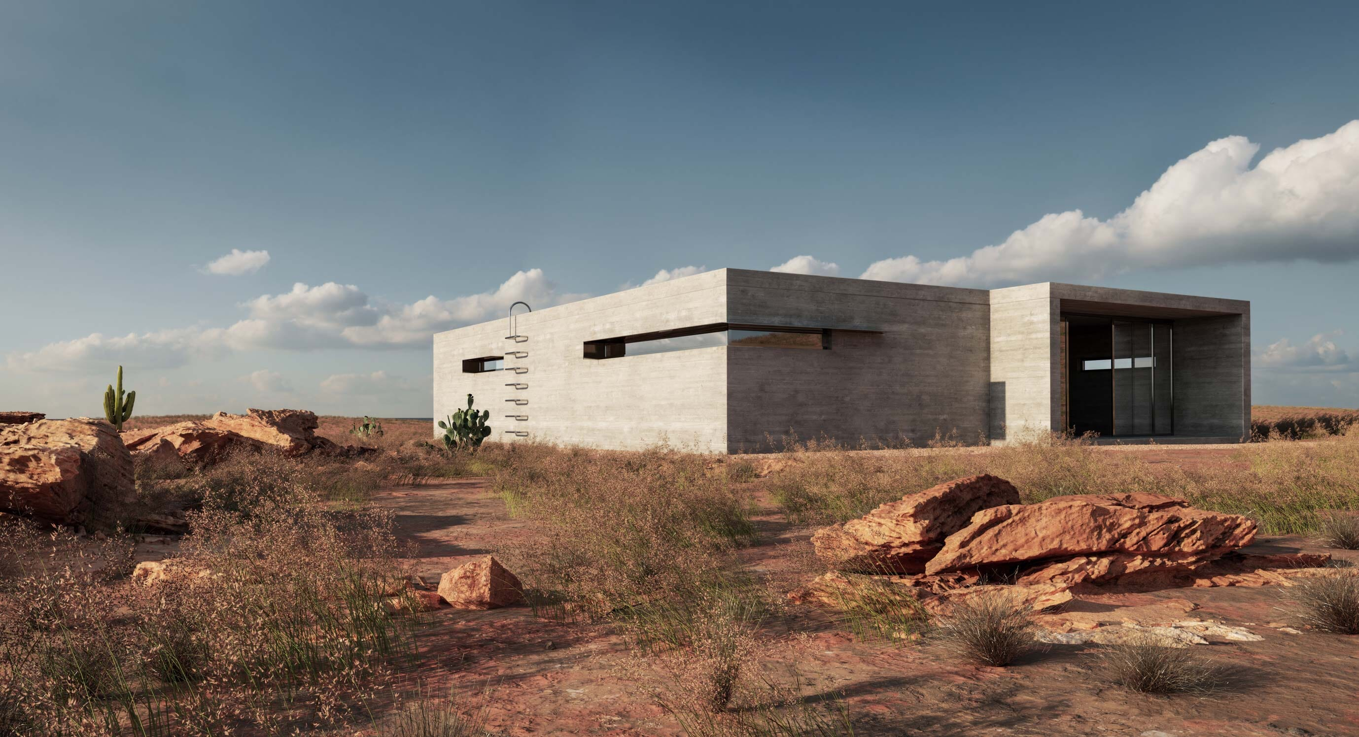 Marc Thorpe Designs The Sharp House Amid The New Mexico Desert