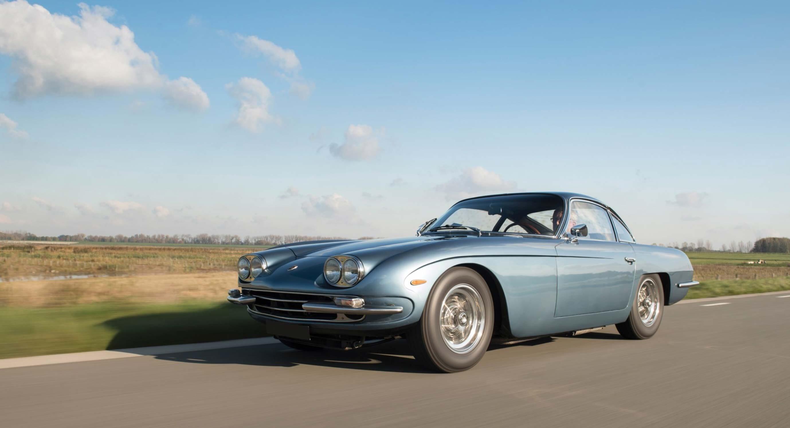 Classic Car Find of the Week: 1967 Lamborghini 400 GT 2+2