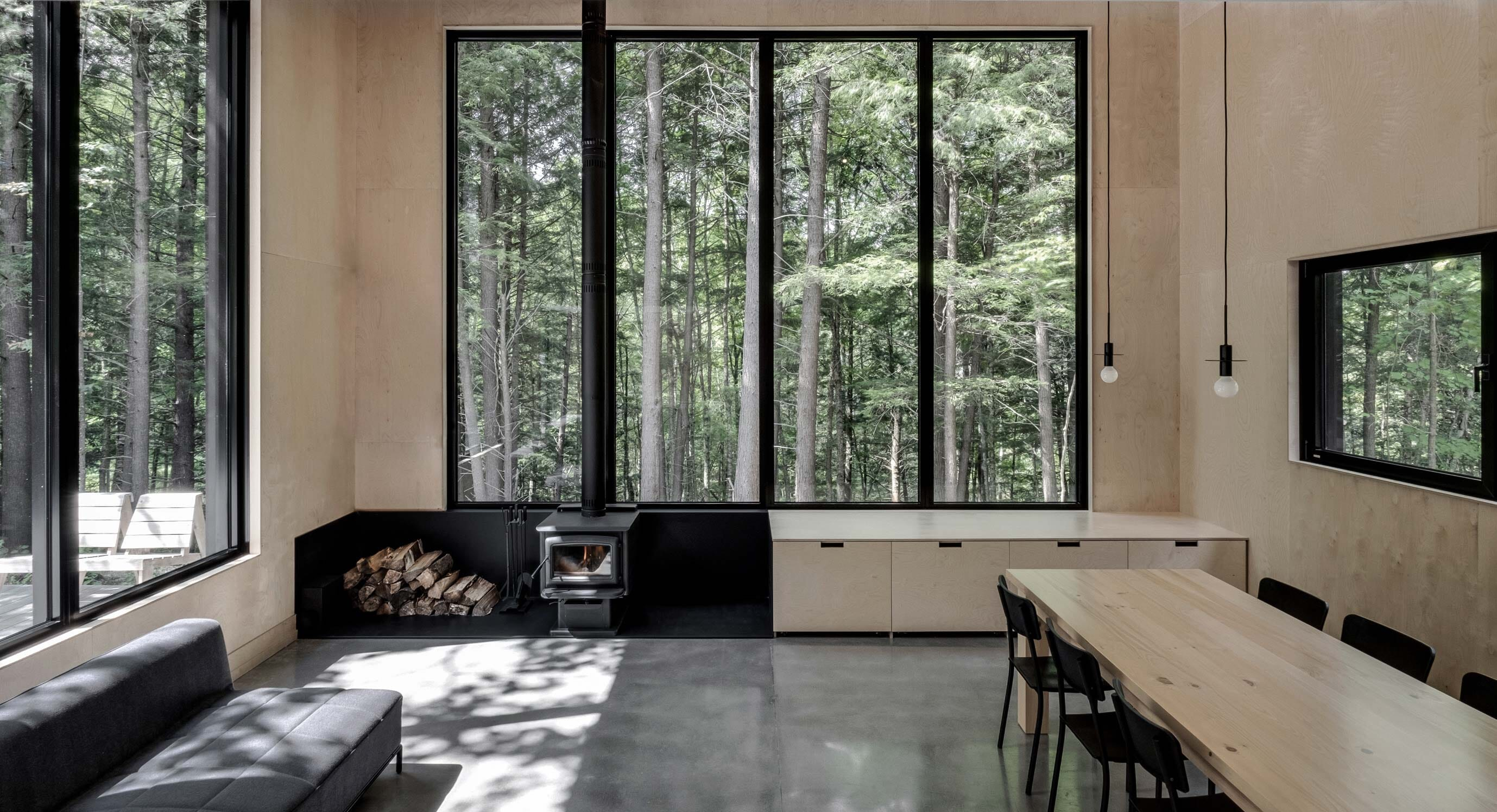 APPAREIL Architecture's New Cabin Hides In A Quebec Forest