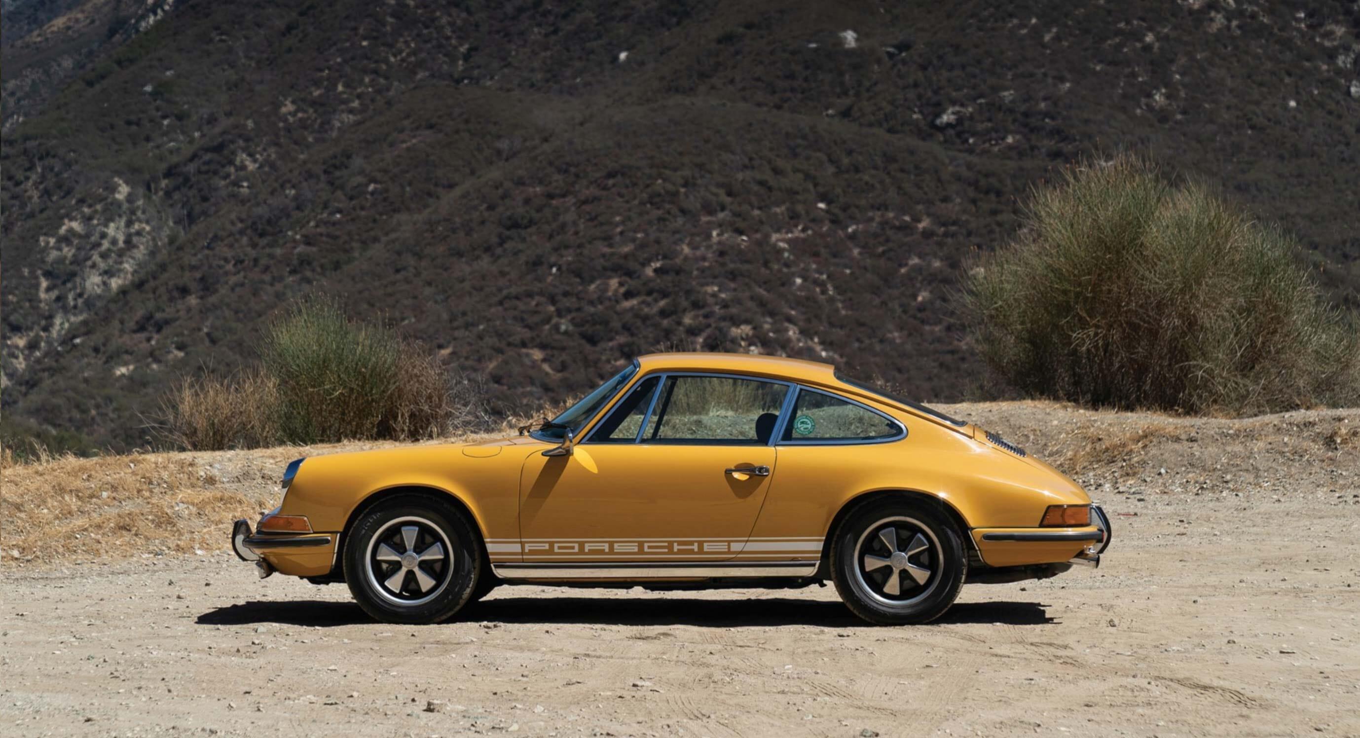 Classic Car Find of the Week: 1969 Porsche 911 E