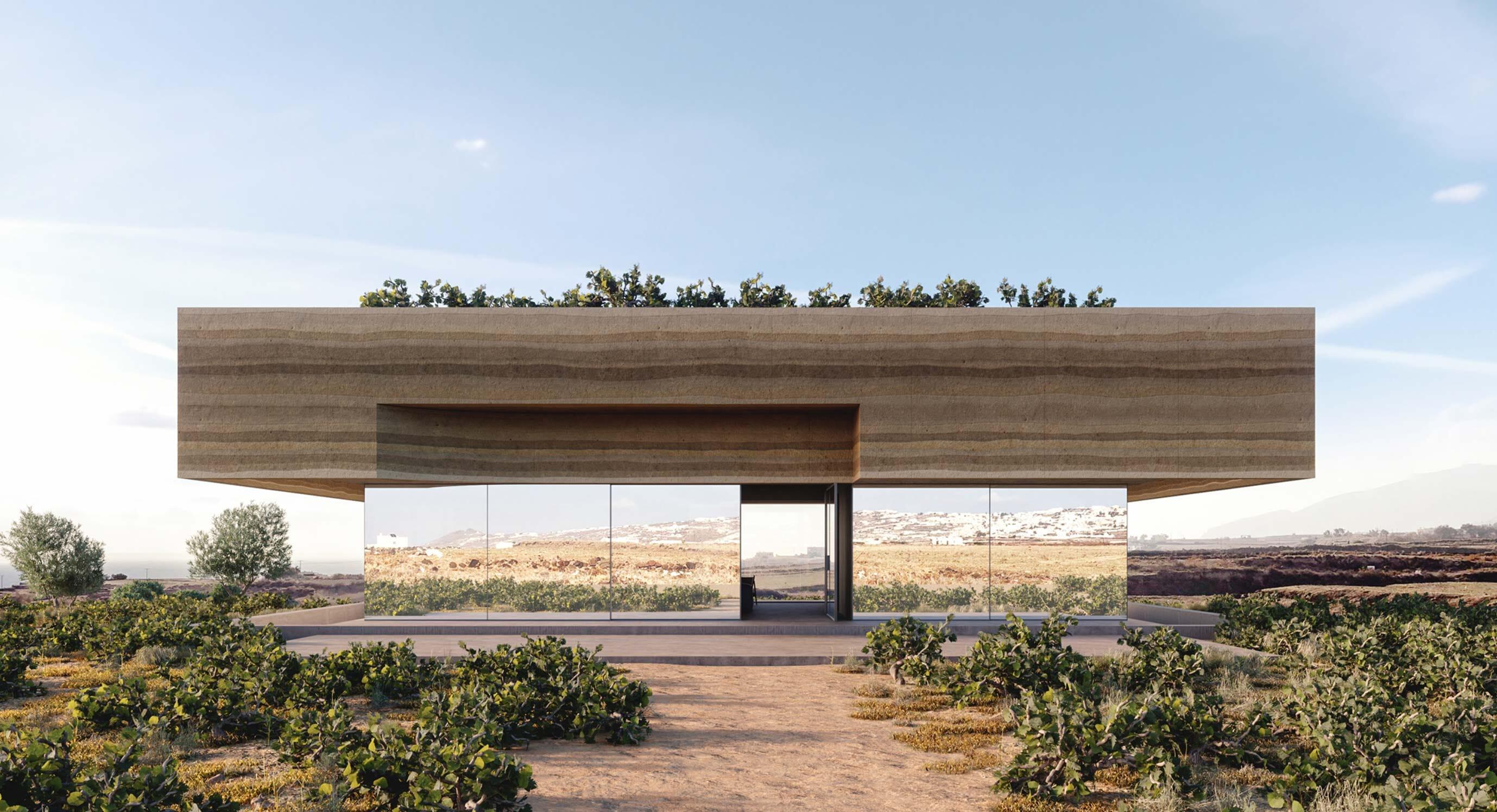 The Optical Illusion Of Kapsimalis Architects' Vineyard House