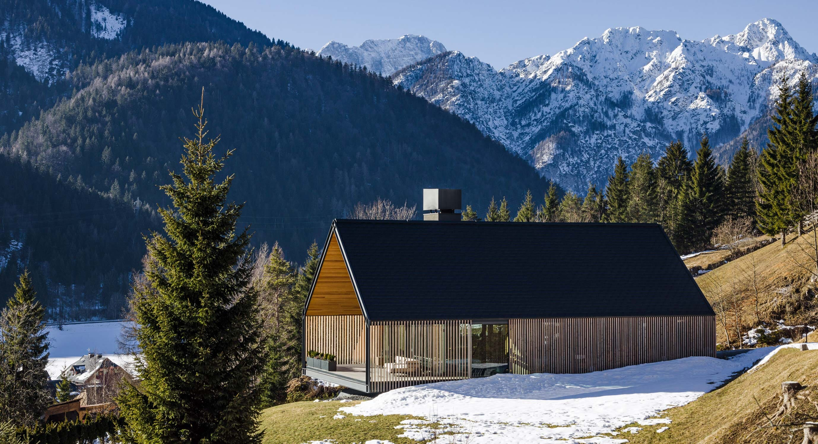 Z House Is A Modern Take On Alpine Living