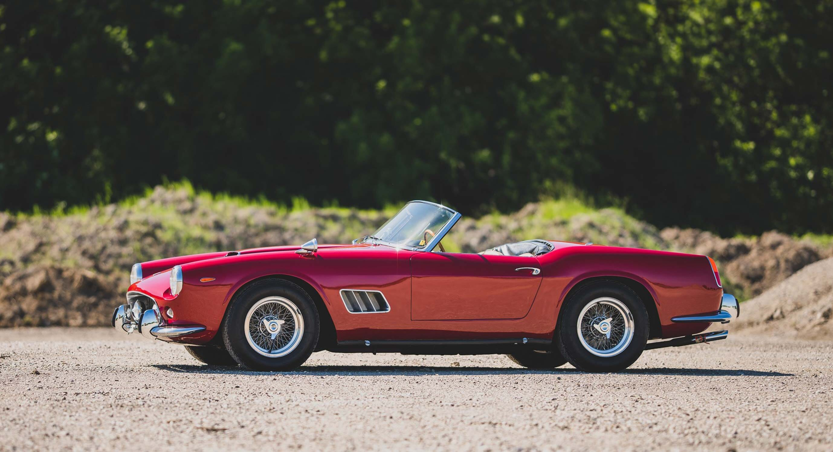 This 1962 Ferrari 250 California Spider Wears Its History