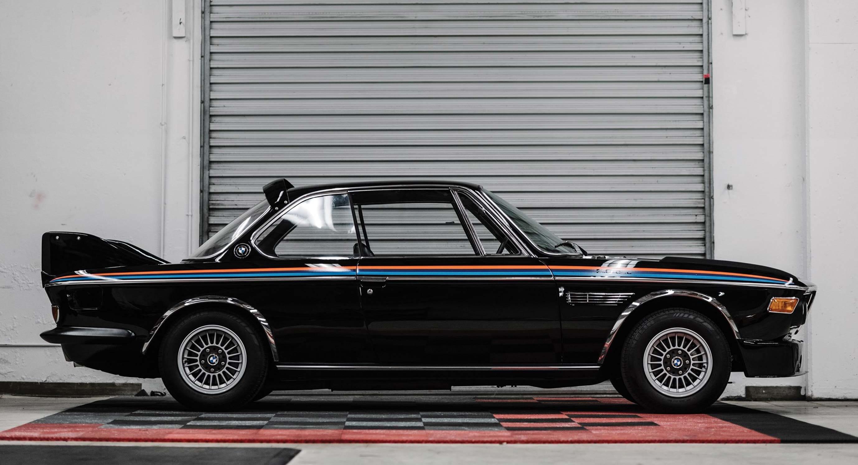 This 1972 BMW 3.0 CSL Retains Its Retro Charm
