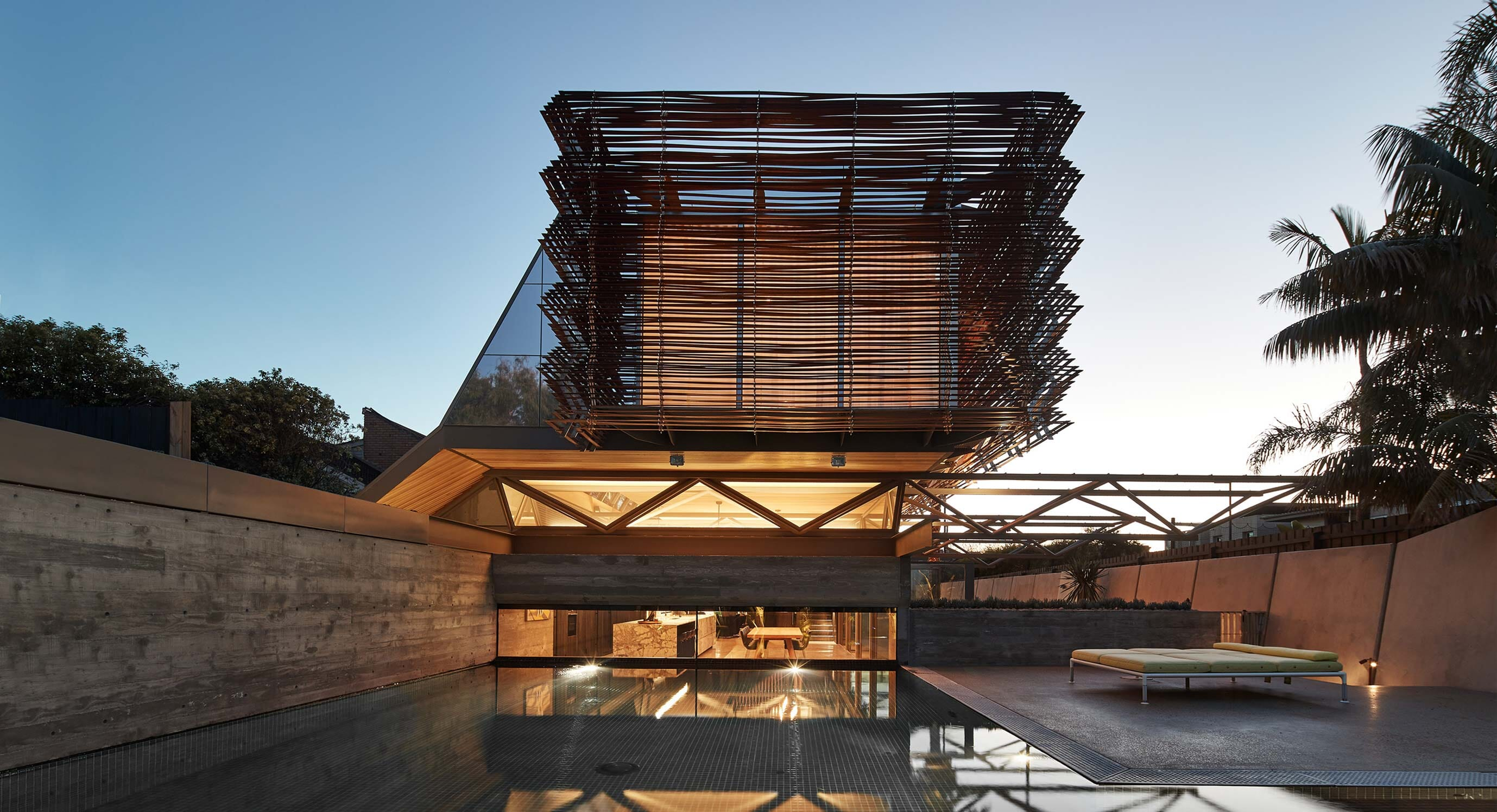 March Studio's Compound House Celebrates Steel