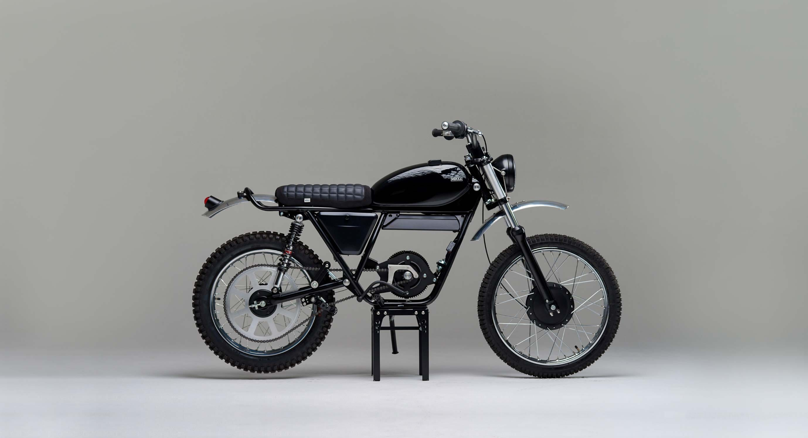 Mokka's Electric Garelli KL50 Took 18 Months To Build