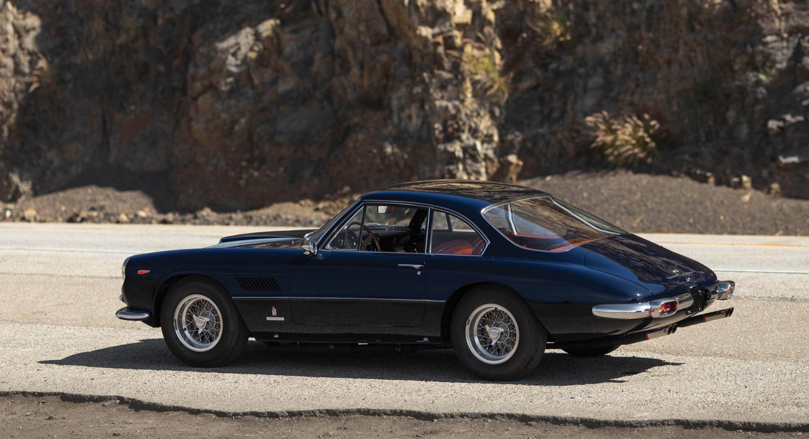 This 1961 Ferrari 400 Superamerica SWB Coupe Aerodinamico Is Fit For Royalty
