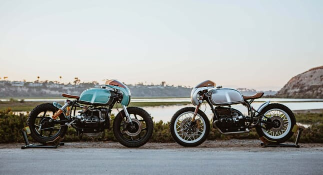 In The Ring With Upcycle's Boxer Twin BMW R100 Café Racers