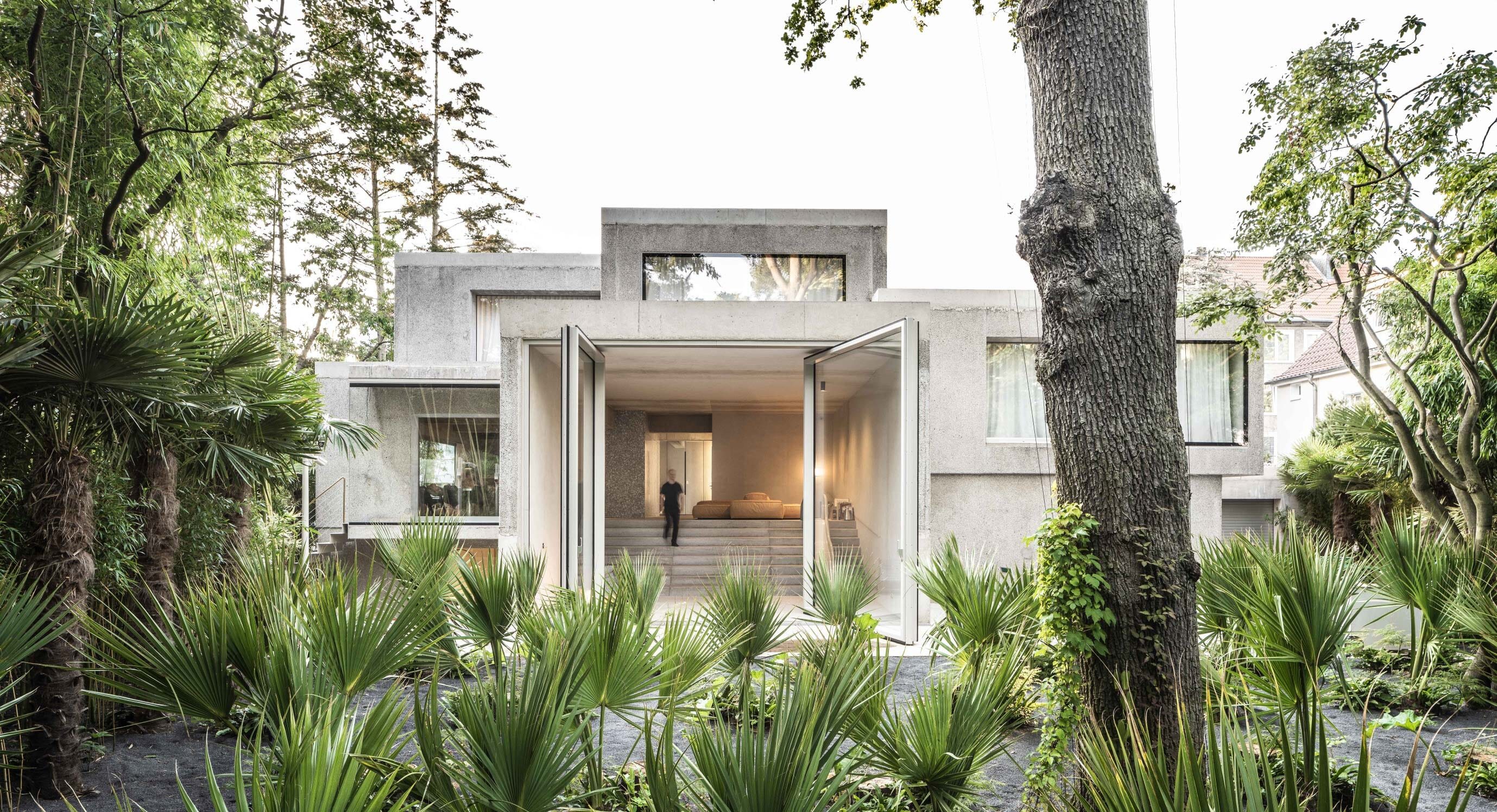 Casa Morgana Is A Project Of Contrast