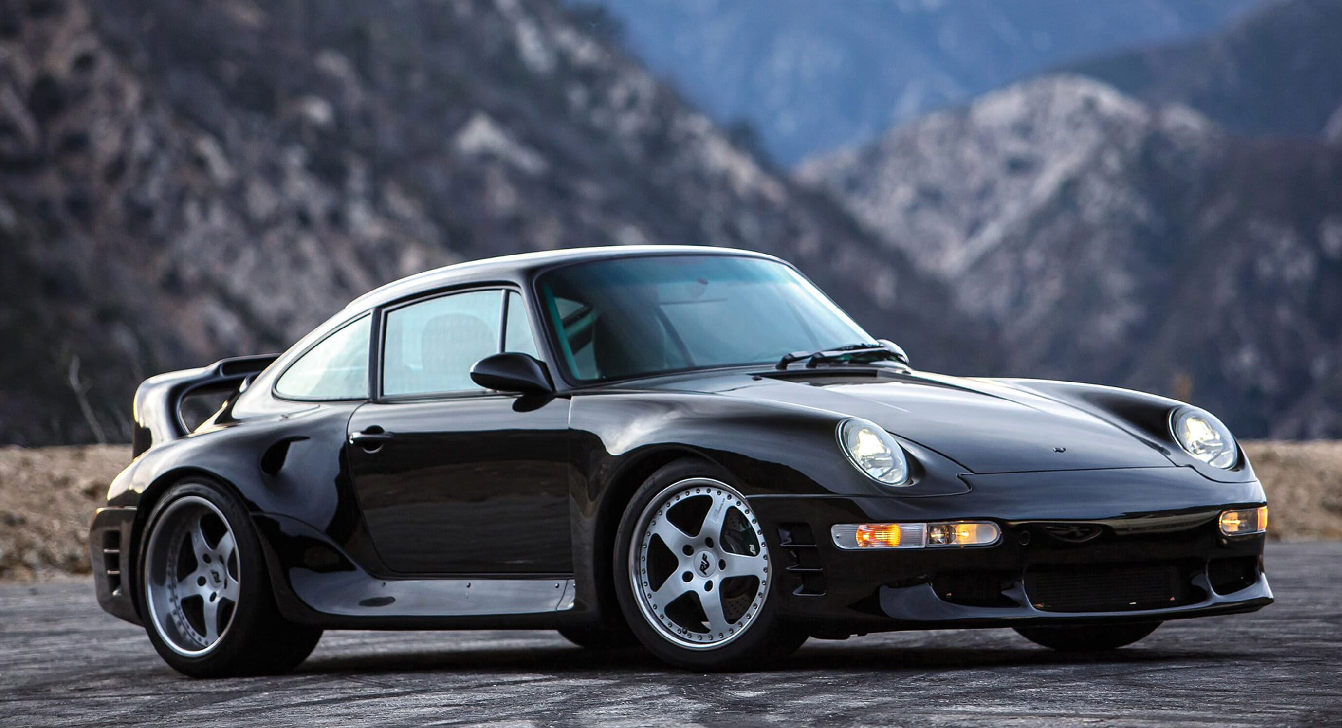 The 1998 RUF CTR2 Sport Is Bred From Racers