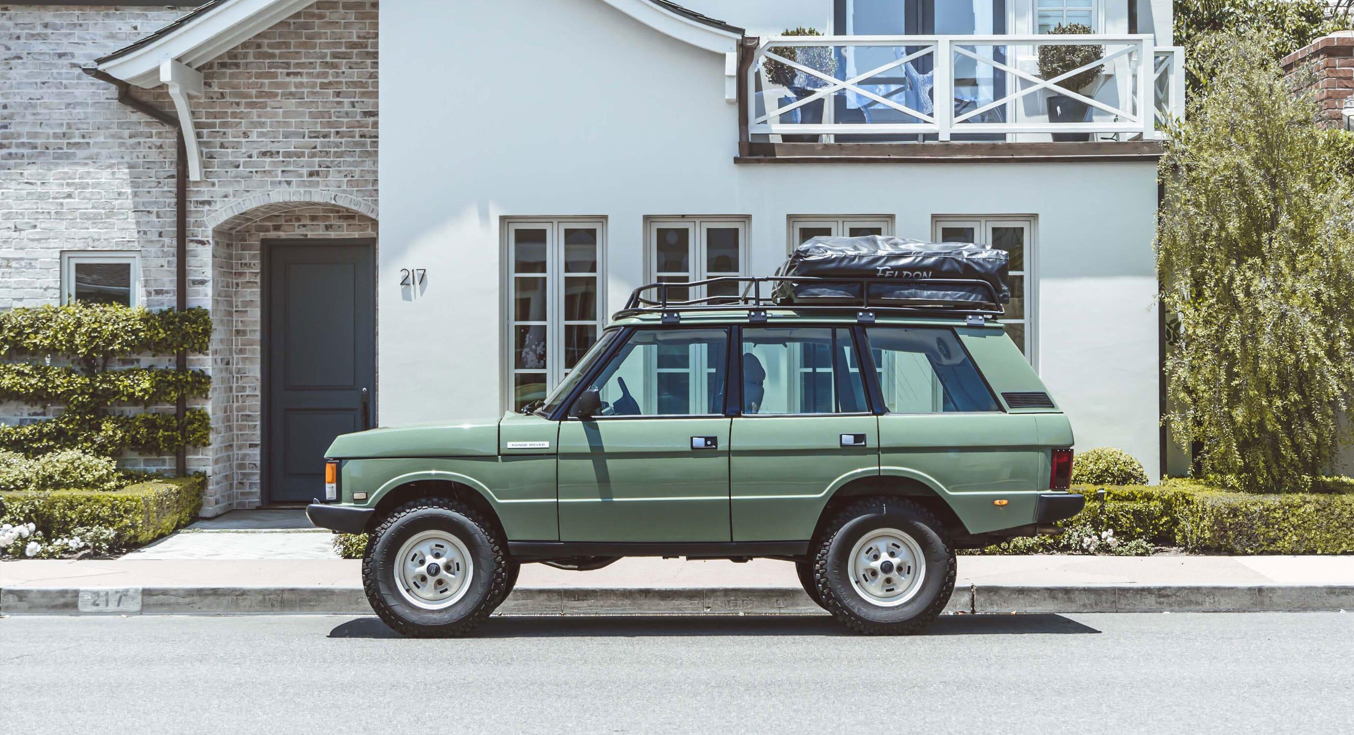 Brooklyn Coachworks Renovate The Heritage Range Rover