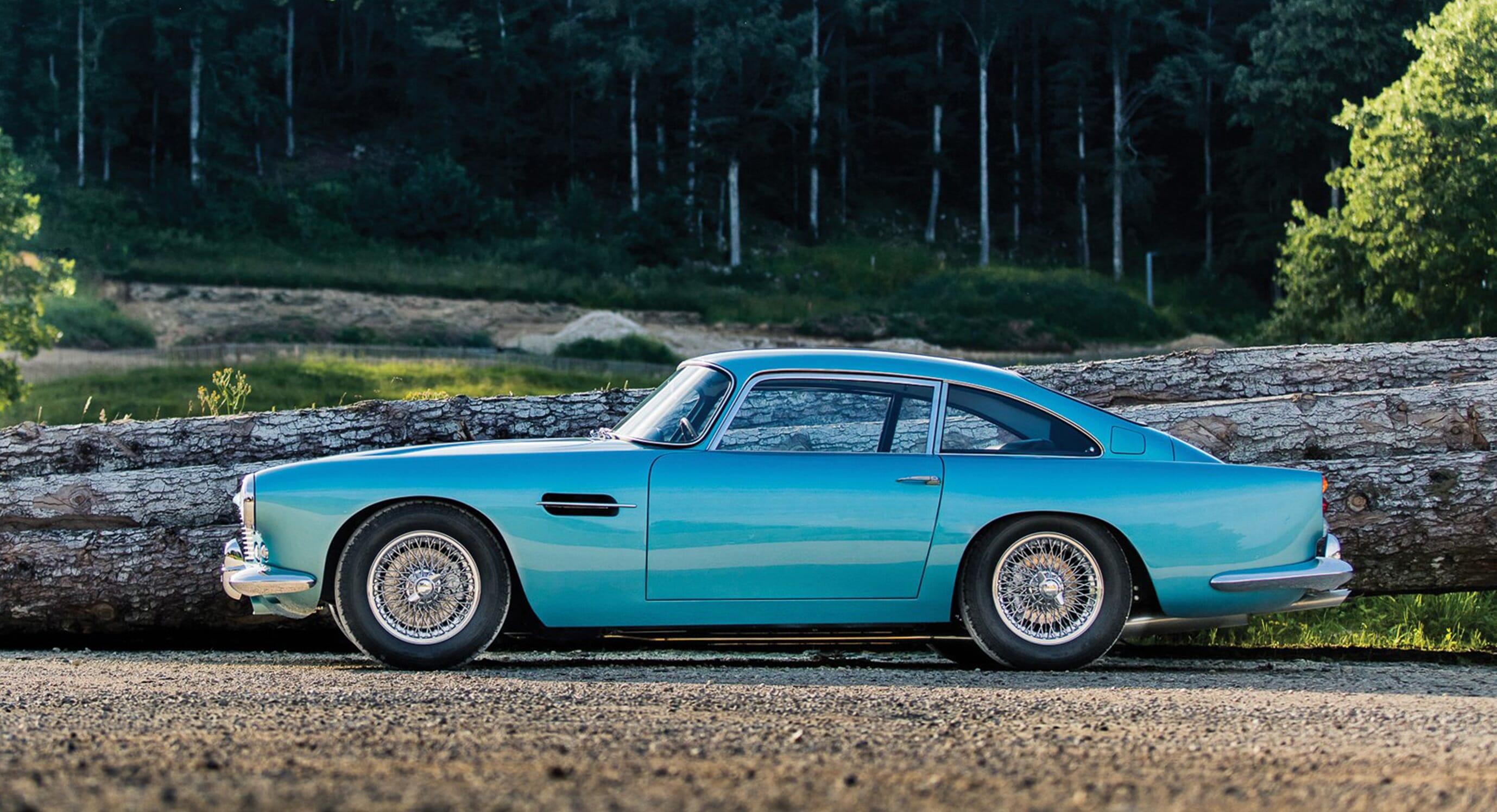 This 1962 Aston Martin DB4 'SS Engine' Series IV Still Shines