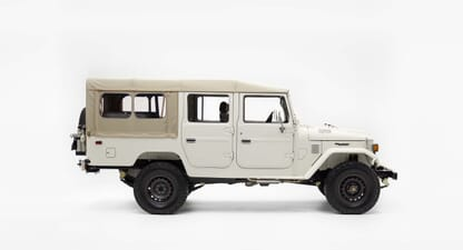 The FJ Company builds Land Cruisers with passion