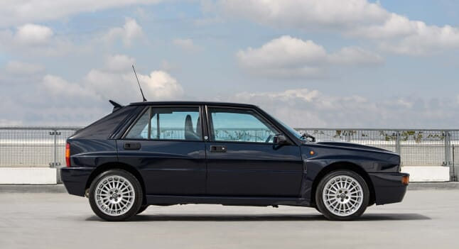This Lancia Delta Integrale Evo II Shows No Signs Of Age