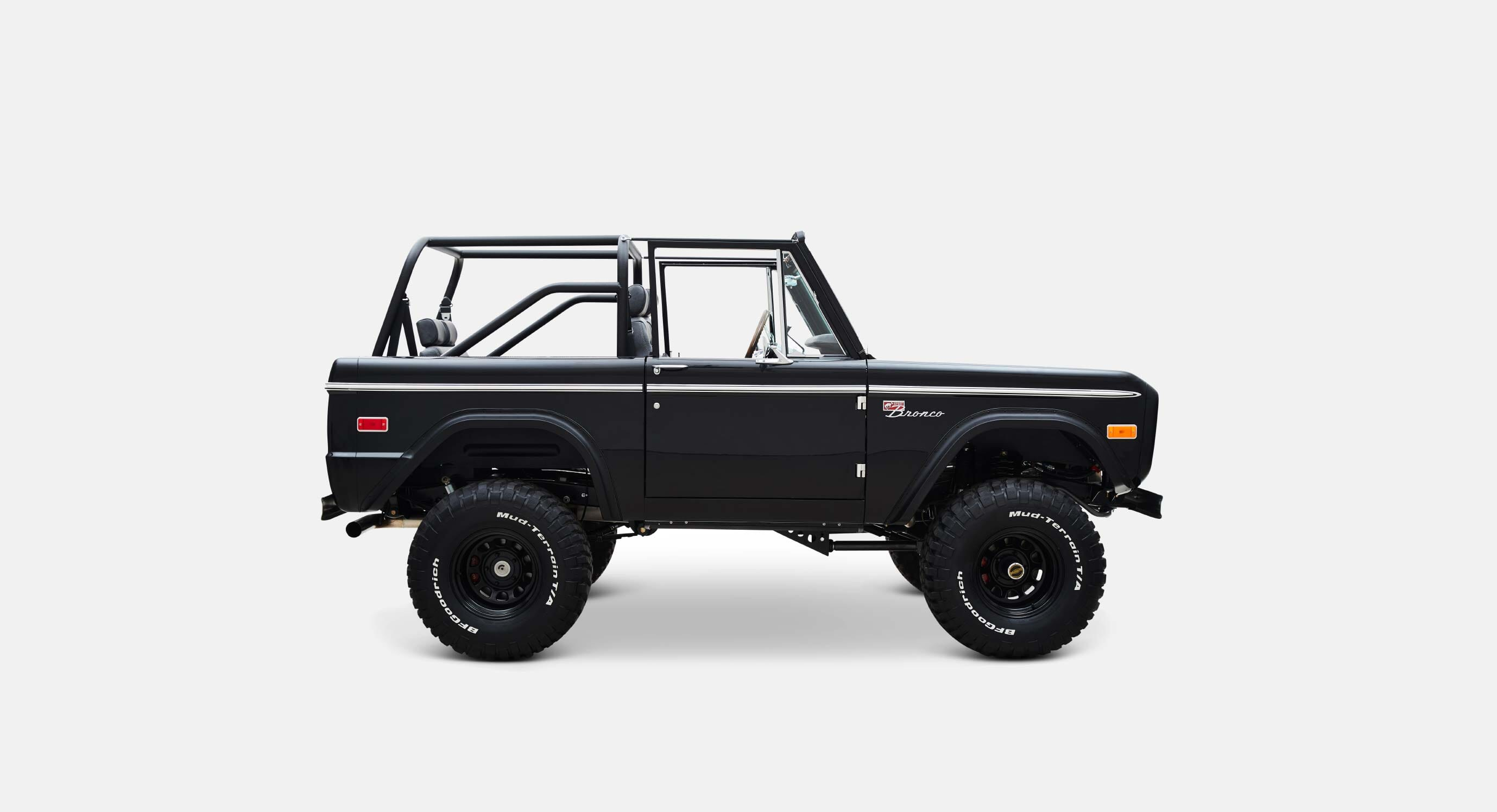 Classic Ford Broncos' Vail Proves That Black Is Always Better