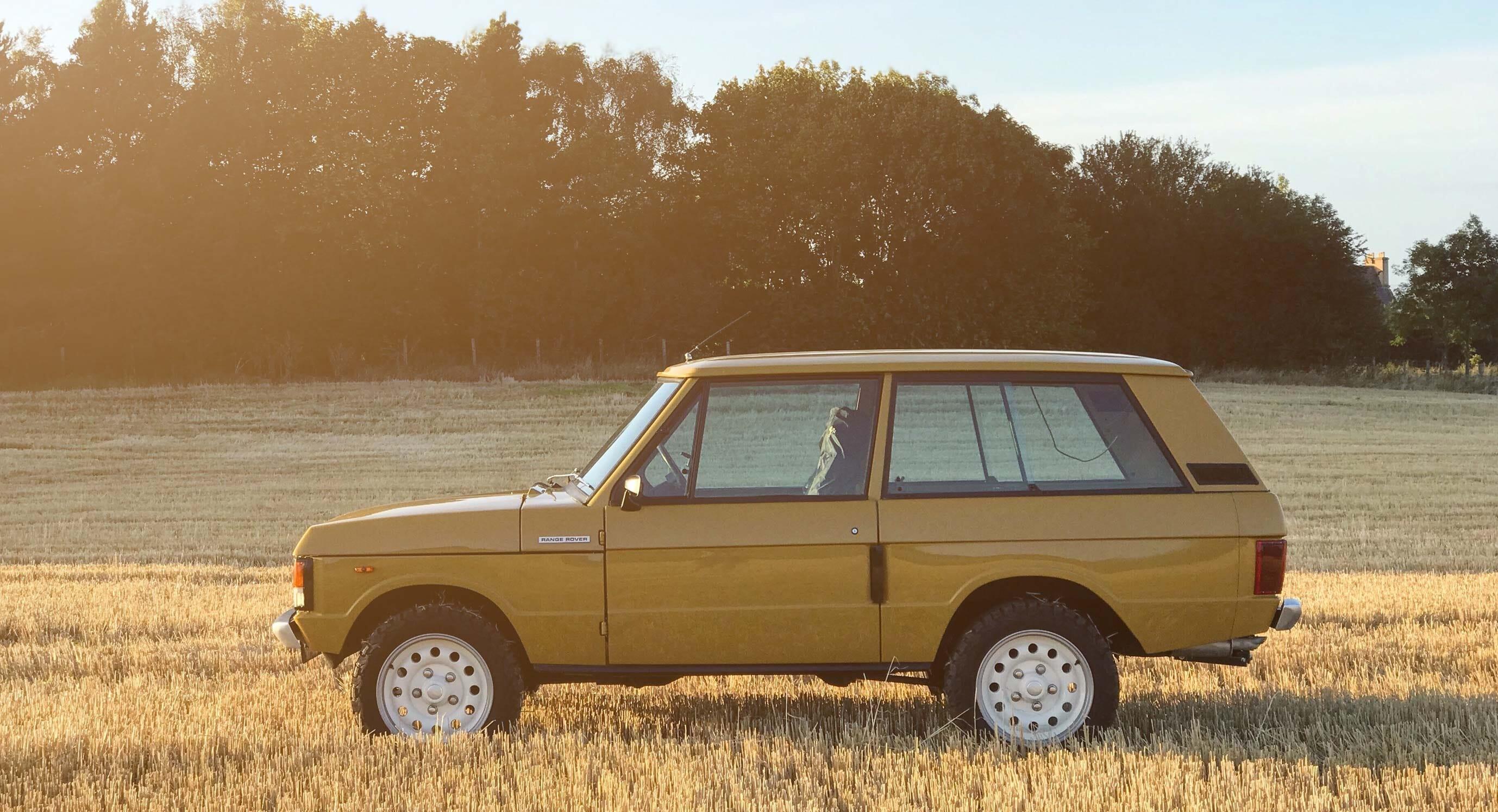 OUTLANDER's 1980 Range Rover: Faithful restoration