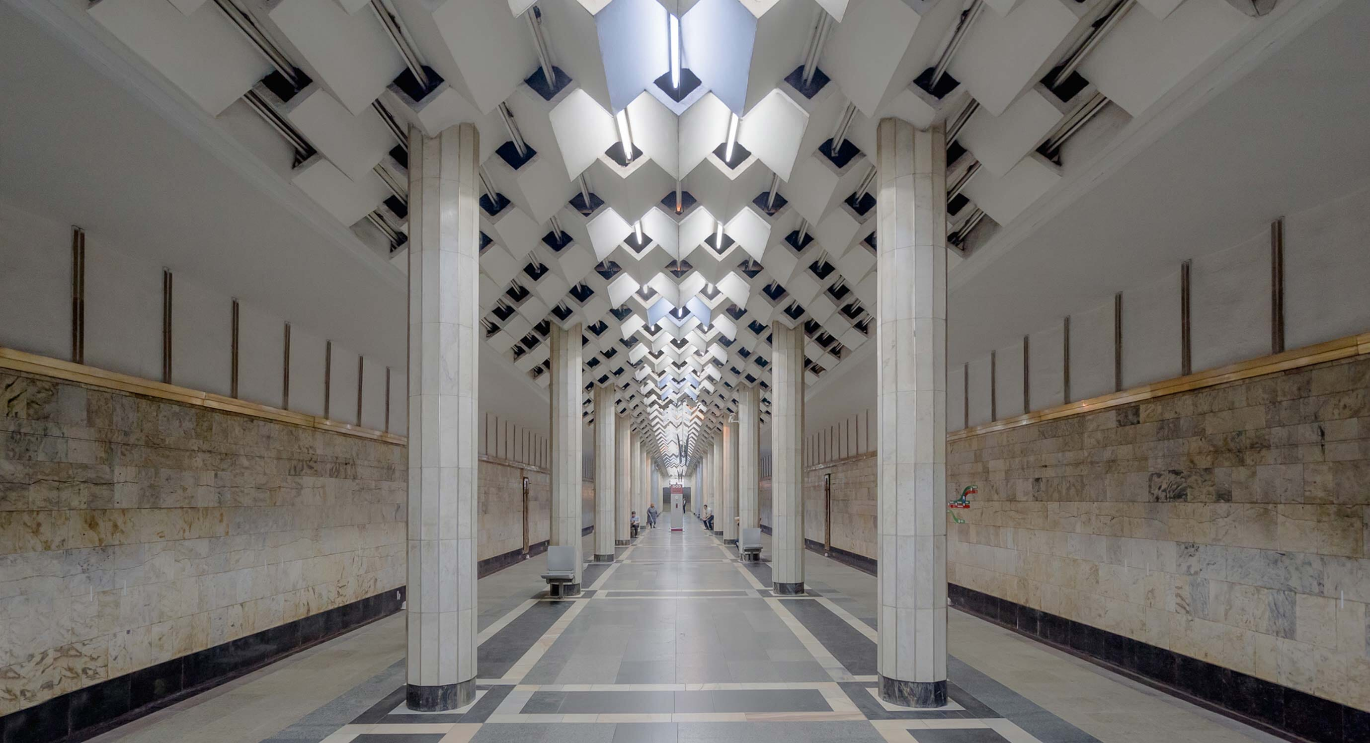 Christopher Herwig's new series is a tour of Soviet metro stations