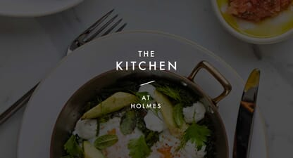 À La Carte: The Kitchen at Holmes favourite cocktail recipe