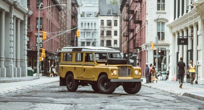 Brooklyn Coachworks Land Rover Series 109: A wolf in sheep's clothing