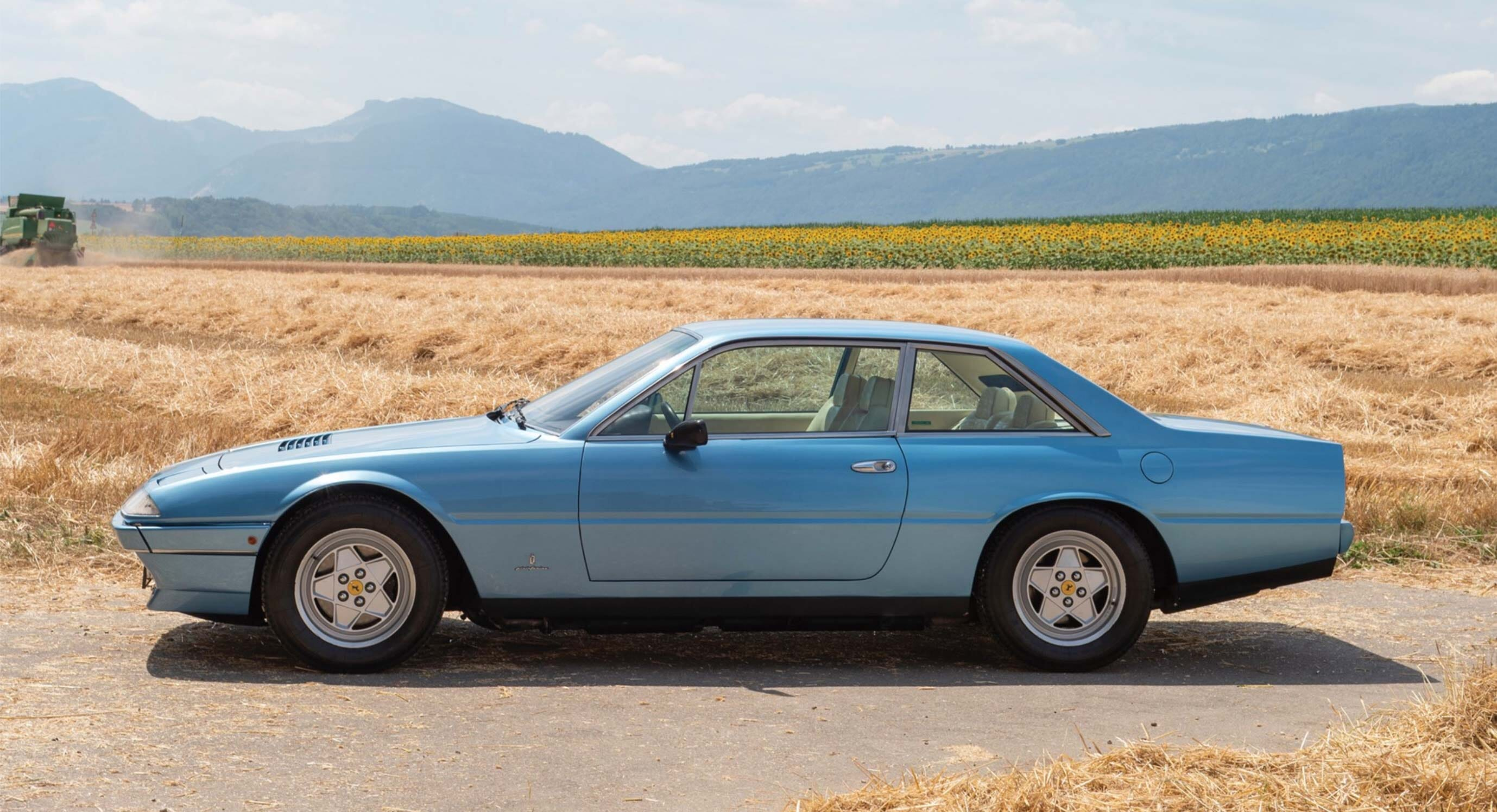1986 Ferrari 412: Cross-continental travel made easy