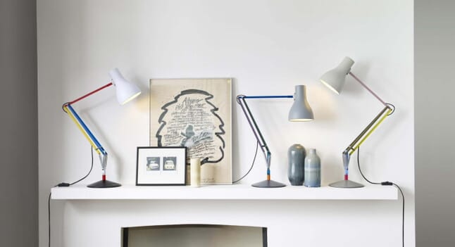 When icons collide: Anglepoise Paul Smith