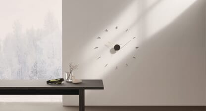 The Beyond Object Silo Wall Clock proves that less is so much more