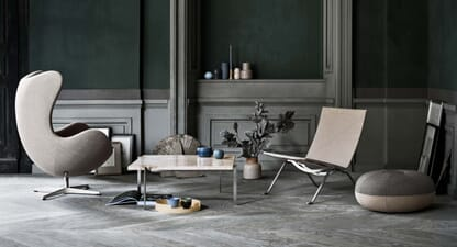 Everything you should know about Fritz Hansen's Egg Chair
