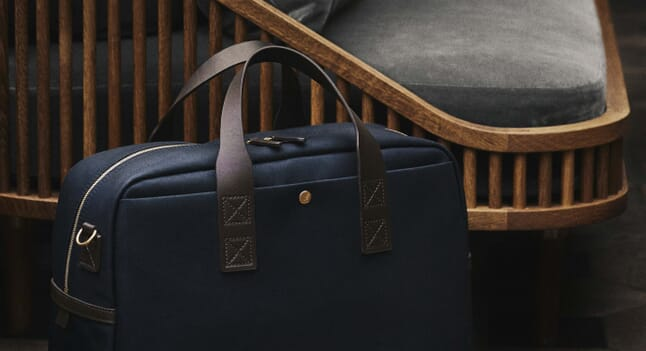 There's a navy Mismo bag for every occasion