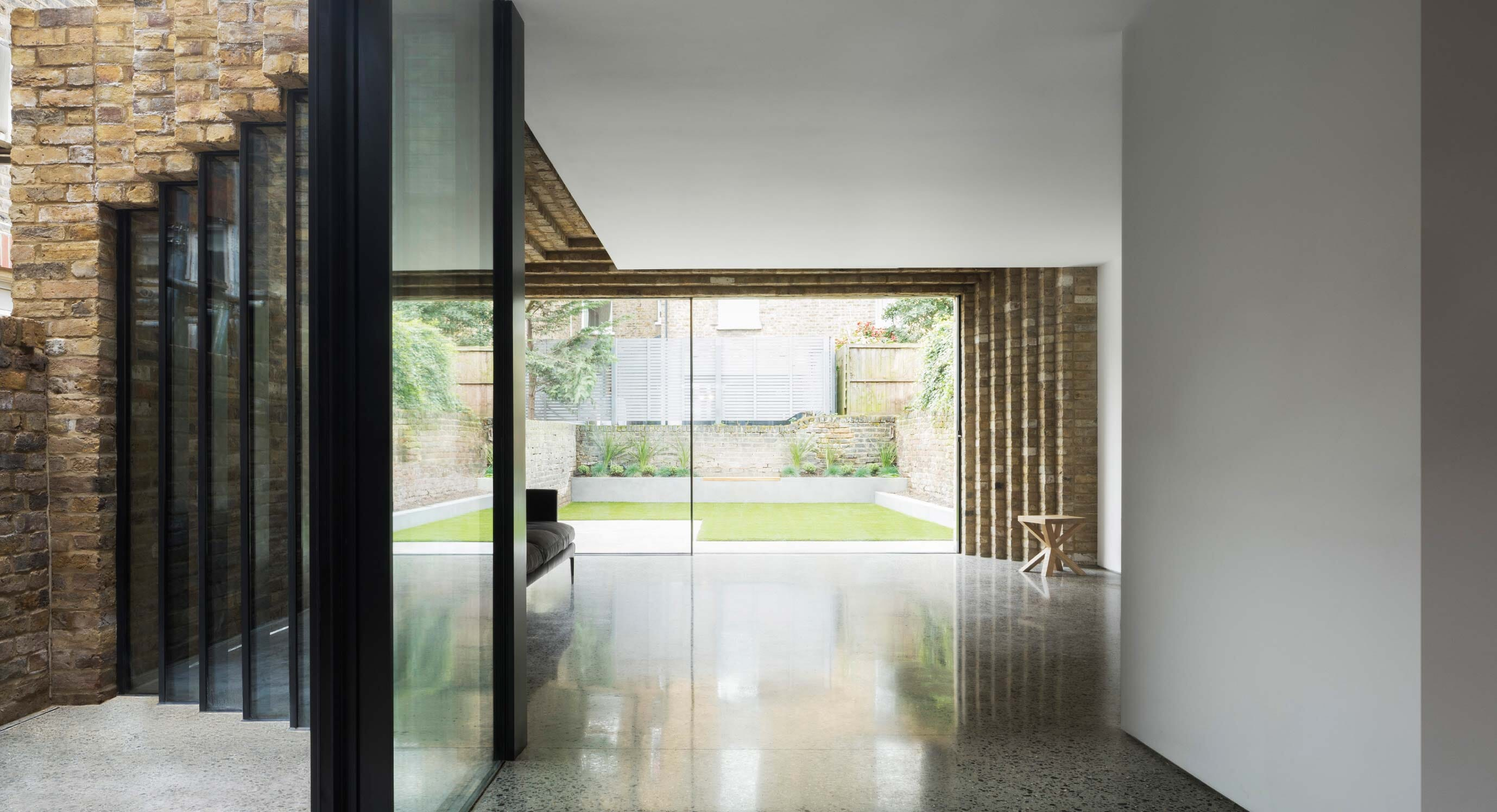 Step House: A modern but respectful extension
