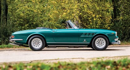 1965 Ferrari 275 GTS: Owned by royalty