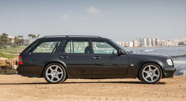 1993 Mercedes-Benz E36 AMG: In disguise