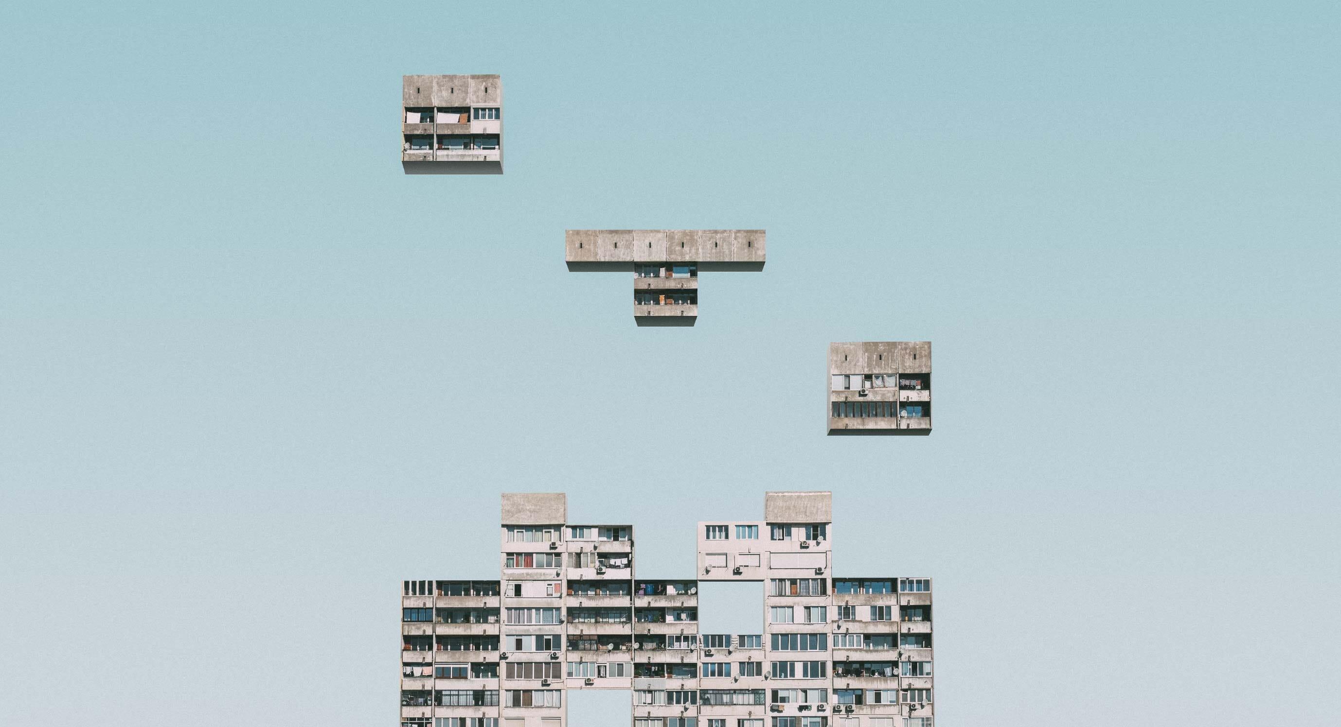 Urban Tetris by Mariyan Atanasov