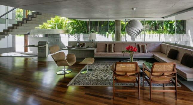 Acayaba Elito House: Considered interior design