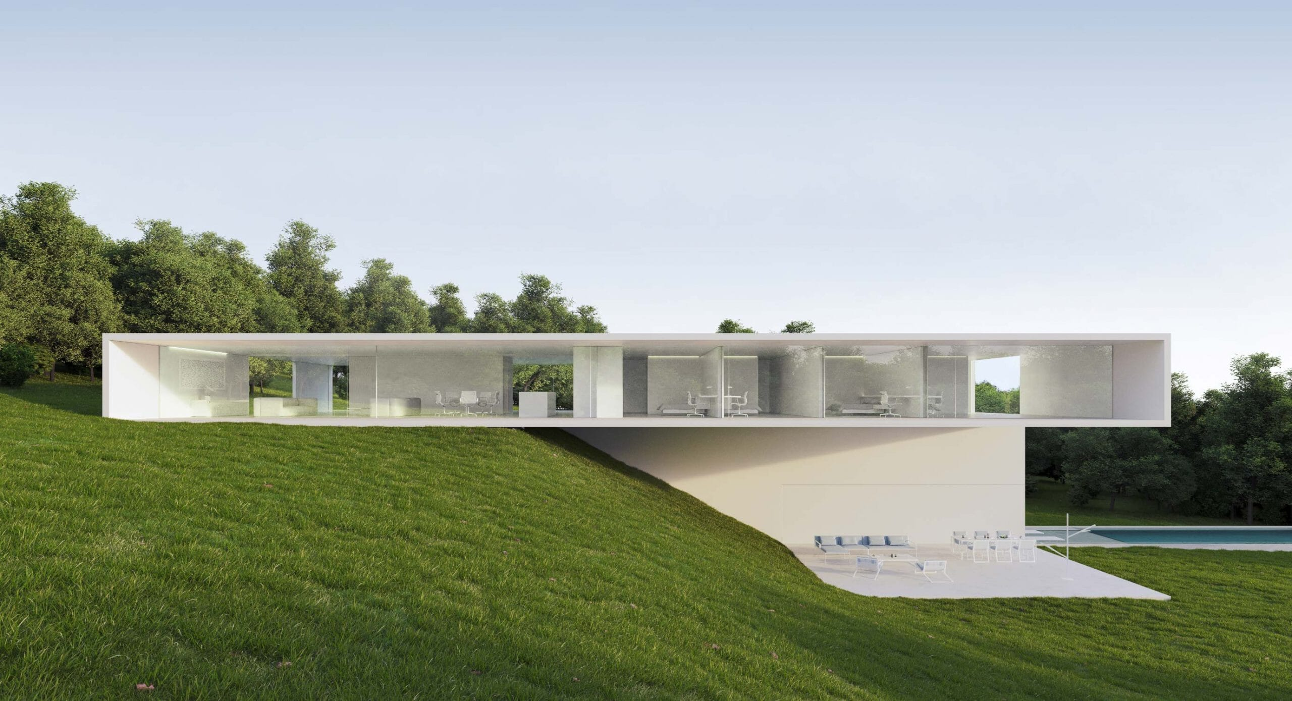 House in Benahavís: Reacting to environment