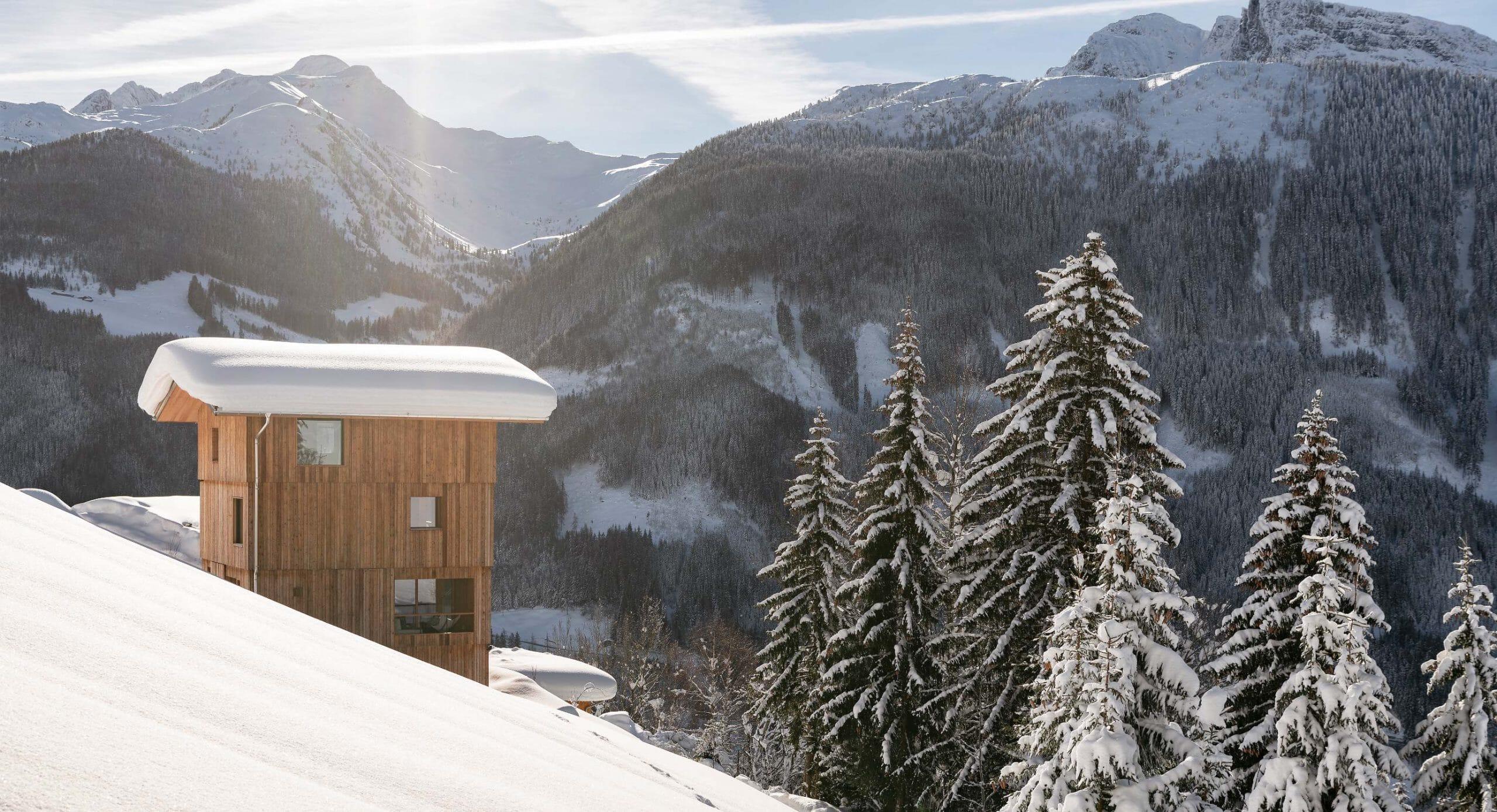 Turmhaus Tirol: Architecture against the elements