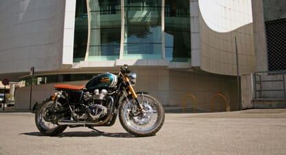 Triumph Bonneville T100: Dedicated customisation