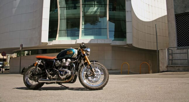 Triumph Bonneville T100: Dedicated customisation